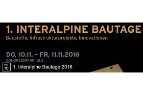 we suggest... 1. interalpine Bautage